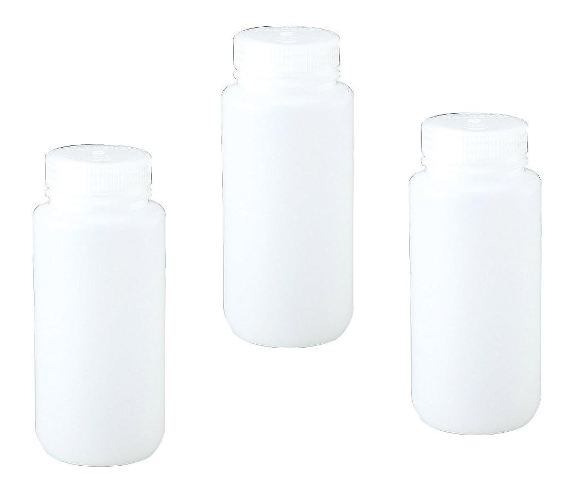 福祉精通したシマウマNALGENE 広口試薬ボトル 透明 250mL /1-2686-04