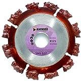 Amboss - Hartmetall Trennscheibe'SMG 52P' - Ø 125 mm x 22,2 mm - Bitumen, Wurzeln, Baumstämme, Holz, Kunststoff - Rip Cutter
