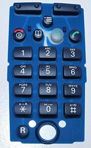 Tastenmatte für Mobilteil Siemens Gigaset 3000 Comfort 3010 3015 Tastatur Keyboard gummi