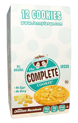 Lenny & Larry's Complete White Chocolate Macadamia Cookie 113 g (Pack of 12)
