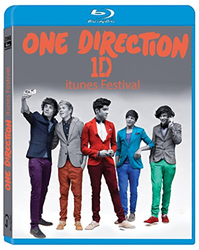 One Direction iTunes Festival - DTS HD Master Audio - Region Free Blu-ray