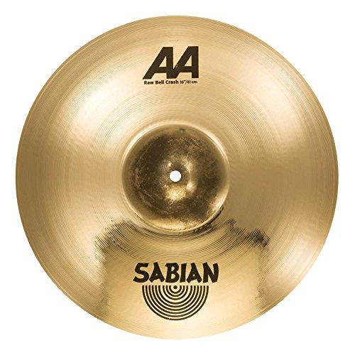 SABIAN - 16' AA Raw Bell Crash, Brilliant Finish