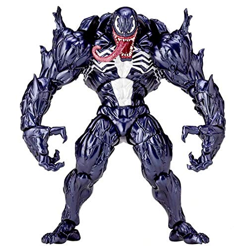 No.003 Venom Edward Brock / Eddie Spider Action Figure with Box, PVC Collectible Toy Hand-Made Model