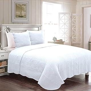 Amazon.fr : couvre lit blanc