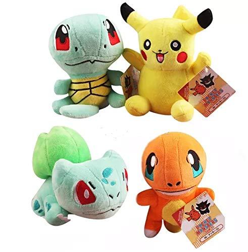 Conjunto peluches pokemon