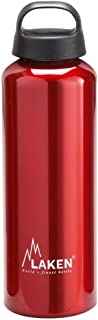 Laken Classic Water Bottle Wide Mouth Screw Cap with Loop 20-34 Ounce