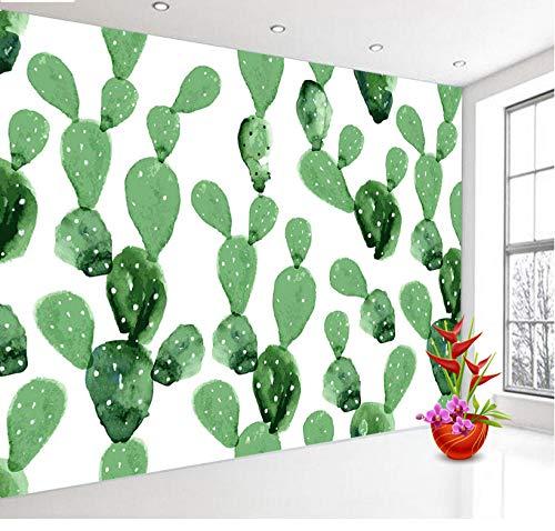 Papel pintado mural imagen 3D Fondos de pantalla para 3 d Sala de estar Papel tapiz 3d Papel de pared Cactus Pintura al óleo Rollos murales Decoración de paredes para el hogar