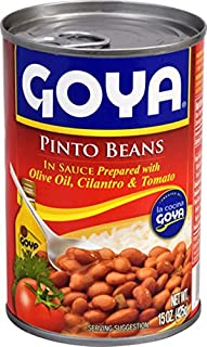 Goya Foods PINTO BEANS in sauce, 15 oz