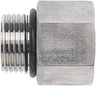 3//8-16 NPT Thread 3//4 Flange 3//8-16 NPT Thread 3//4 Flange Inc. Brennan Industries 1938-62-16-12 Steel Flat Socket Block Tube Code 62 Flat Face