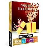 DAKOTABOX - Caja Regalo hombre mujer pareja idea de regalo - Muchas felicidades - 13000 experiencias como escapadas, spa, tratamientos, cenas y actividades de aventura