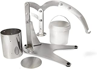 The Sausage Maker - Stainless Steel Dutch Style Cheese Press, USA Made