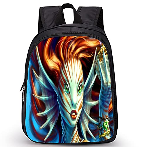 yanxintiyu 3D Meerjungfrau-Musternyouth-Jungen-Mädchen-Rucksack Niedlicher Footravel Bagsheulder Bag/Bleistiftkoffer (Color : 4, Size : 14x27x35cm)