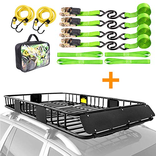 XCAR roof rack + straps