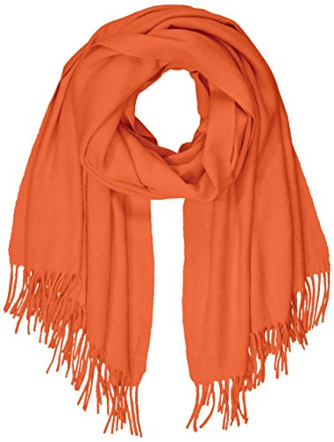 PIECES Damen PCJIRA WOOL SCARF NOOS Schal, Rot (Picante Picante), One Size