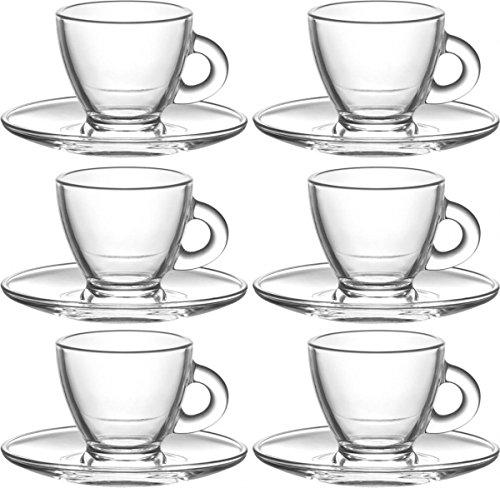12tlg. Set Tassen ca. 200ml mit Untertasse Roma