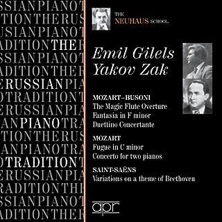 The Russian Piano Tradition: Emil Gilels & Yakov Zak