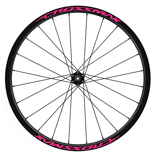 Pegatinas Llantas Bicicleta 29' Mavic Crossmax Elite TL WH19 VINILOS Ruedas Rosa Fluor