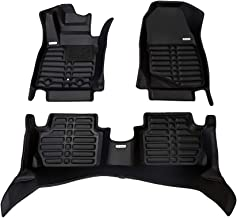 Full Set TuxMat Custom Car Floor Mats for Chrysler Pacifica Hybrid 2017-2020 Models/- Laser Measured All Weather Waterproof The Ultimate Winter Mats Also Look Great in the Summer./The Best/Chrysler Pacifica Accessory. Largest Coverage