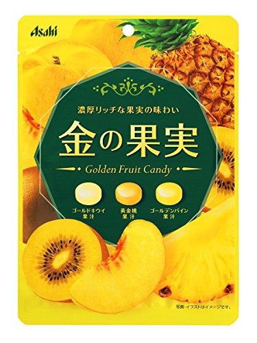 アサヒグループ食品 金の果実キャンディ 84g×6袋