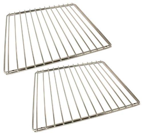 First4Spares réglable Chromé Bras de verrouillage étagères pour s'adapter au four Belling plaques de cuisson (lot de 2)