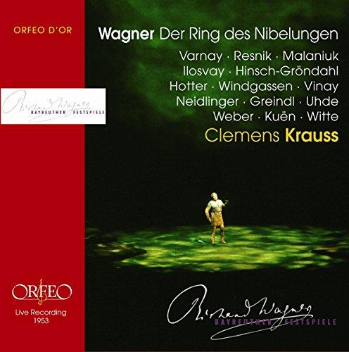 ワーグナー 楽劇 ニーベルングの指環 クレメンス・クラウス バイロイト祝祭管弦楽団 (13CD)