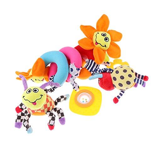 #N/A/a Cochecito para Niños Cochecito para Niños Cochecito en Espiral Colgante - Flor, Tal como se Describe