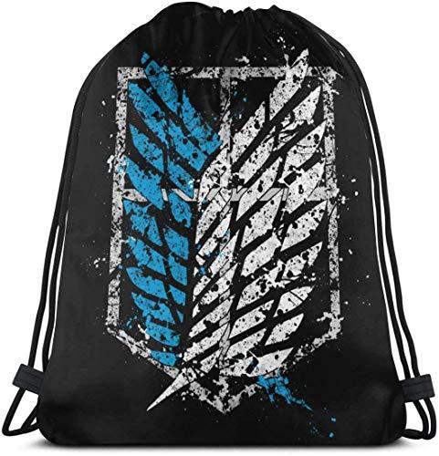 Hero Academia Eri Drawstring Bag Sport Gym Bapa Storage Goodie Cinch Bags