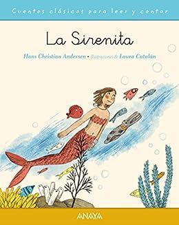 Book's Cover of La sirenita (PRIMEROS LECTORES (1-5 años) - Cuentos clásicos para leer y contar) Versión Kindle