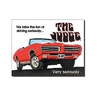 ブリキ看板 Pontiac GTO - The Judge (1430) ティンサインプレート ティンサインボード アメリカ雑貨 アメリカン雑貨
