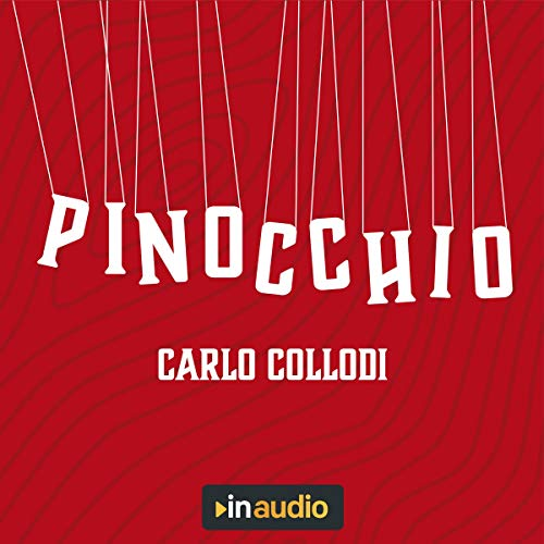 Pinocchio audiobook cover art