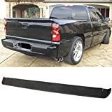 Luyao Tailgate Intimidator Spoiler Top Protector Wing for 99-06 Chevy Silverado Sierra
