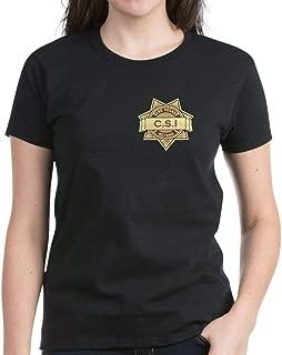 CafePress CSI Las Vegas T Shirt Womens Cotton T-Shirt