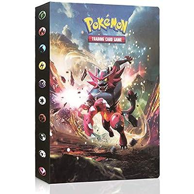 JIM - Álbum de Pokemon, Álbum Titular de Tarjetas Pokémon,Pokemon Cards Album,30 páginas 240 Tarjetas - 2# de JIM