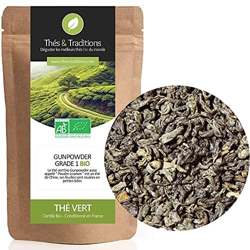 Thés & Traditions - Gunpowder Tè Verde Organico Grade 1 | 100g