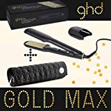 Ghd - Fer A Lisser Styler Max Gold Plaque Large Avec Pochette Ghd Ronde