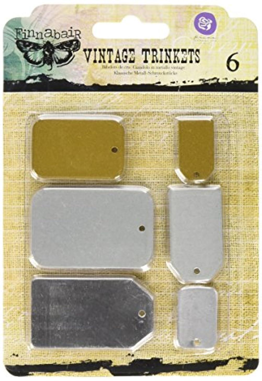 Prima Marketing 655350960360 Mechanicals Metal Tags