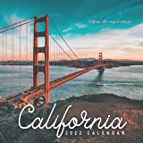 California Calendar 2022: Gifts for Friends and Family with 12-month Monthly Calendar in 8.5x8.5 inch