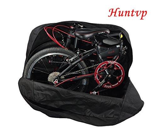 Huntvp Bolsa de Almacenamiento de Bicicleta Bolso Plegable del recorrido viaje de...
