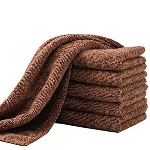 Nbvcxz 10 toallitas de microfibra (30 x 40 cm) para el suelo, toallas de cocina, toallitas muy absorbentes y absorbentes, toallas de limpieza de ventanas.