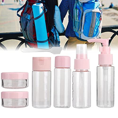 Uxsiya Recipiente reutilizable para champú, 2 colores, botella de spray de maquillaje para mujer para el baño (1712 Powder)