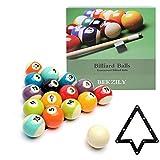 BEKZILY Billiard Ball Set Professional Pool Table Billiard Balls (Bright)