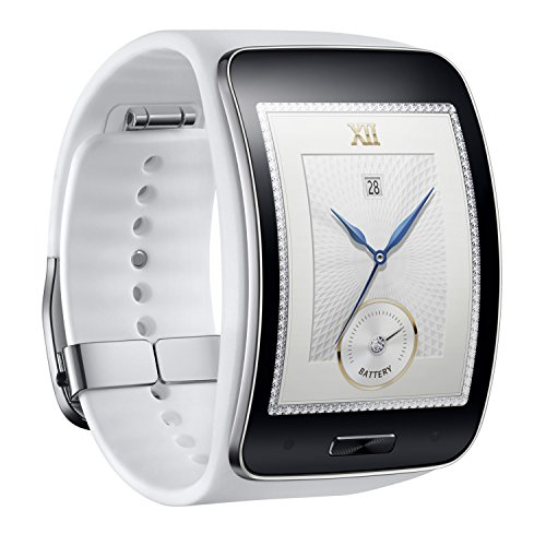 Samsung Galaxy Gear S R750W Smart Watch w/ Curved Super AMOLED Display (White)
