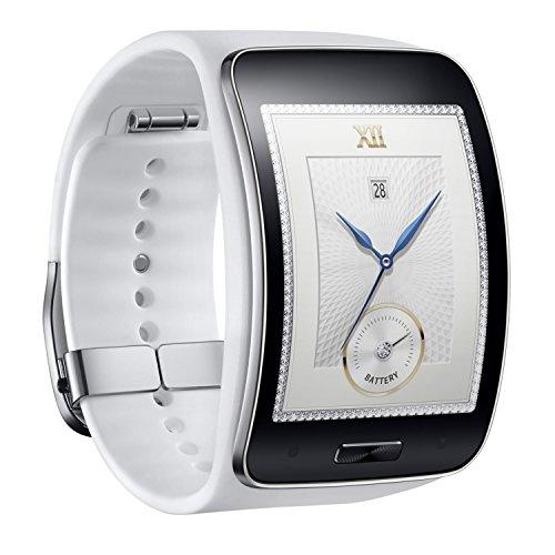 Samsung Galaxy Gear S R750W Smart Watch w/ Curved Super AMOLED Display (White)