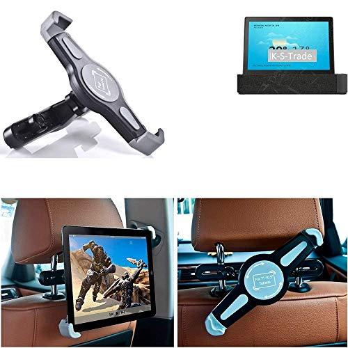 K-S-Trade® Per Lenovo Smart Tab P10 LTE Supporto per Poggiatesta A 360° Seggiolino Auto Montaggio Monte Titolare Sedile Posteriore Tablet Montagio Porta Tablet per Lenovo Smart Tab P10 LTE
