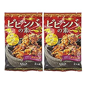 【KALDI】 ビビンバの素 2人前×2袋