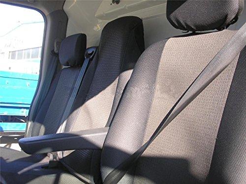 2 + 1 luxe grijze stoelhoezen passende hoezen van polyester.