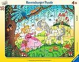 Ravensburger Kinderpuzzle - 05027 Im Land der kleinen Prinzessin - Rahmenpuzzle für Kinder ab 4 Jahren, mit 35 Teilen