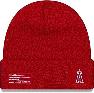 be3600ad187 New Era Los Angeles Angels Beanie MLB 2018-19 On Field Sport Knit Cap Red
