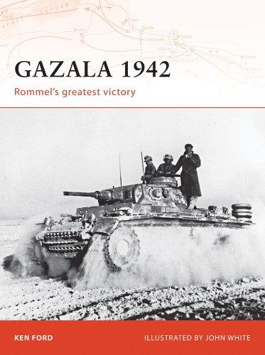 Gazala 1942: Rommel's greatest victory (Campaign Book 196) (English Edition)