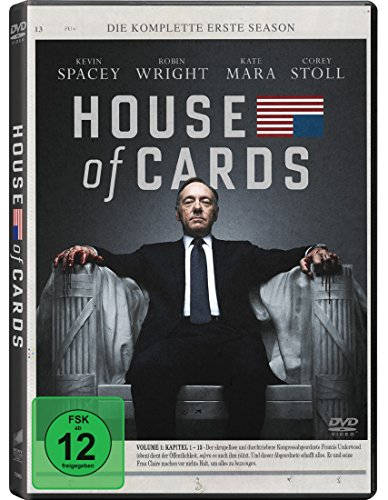 House of Cards - Die komplette erste Season [4 DVDs]